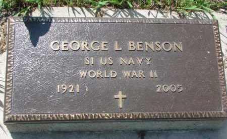 BENSON, GEORGE L. - Stanton County, Nebraska | GEORGE L. BENSON - Nebraska Gravestone Photos