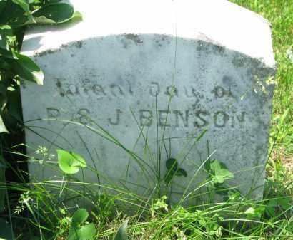 BENSON, INFANT DAUGHTER - Stanton County, Nebraska | INFANT DAUGHTER BENSON - Nebraska Gravestone Photos