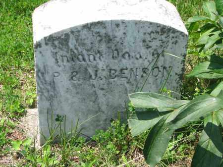 BENSON, INFANT DAUGHTER - Stanton County, Nebraska   INFANT DAUGHTER BENSON - Nebraska Gravestone Photos