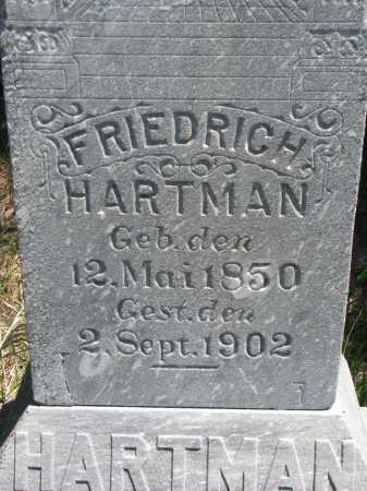 HARTMAN, FRIEDRICH (CLOSEUP) - Stanton County, Nebraska | FRIEDRICH (CLOSEUP) HARTMAN - Nebraska Gravestone Photos