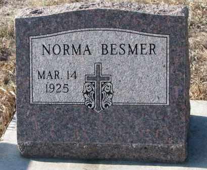 BESMER, NORMA - Stanton County, Nebraska   NORMA BESMER - Nebraska Gravestone Photos