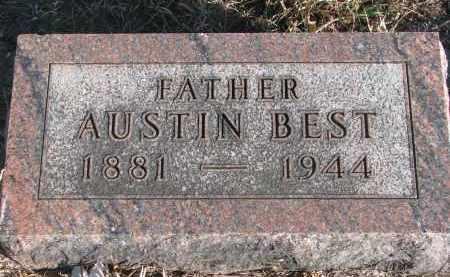 BEST, AUSTIN - Stanton County, Nebraska | AUSTIN BEST - Nebraska Gravestone Photos