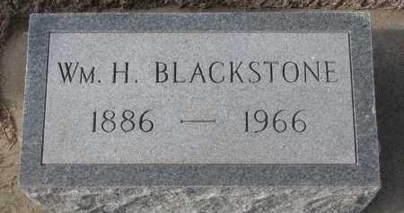 BLACKSTONE, WILLIAM H. - Stanton County, Nebraska | WILLIAM H. BLACKSTONE - Nebraska Gravestone Photos
