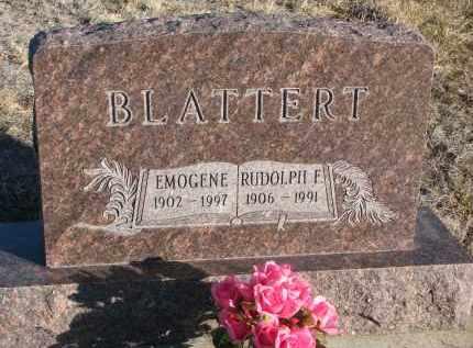 BLATTERT, RUDOLPH F. - Stanton County, Nebraska | RUDOLPH F. BLATTERT - Nebraska Gravestone Photos