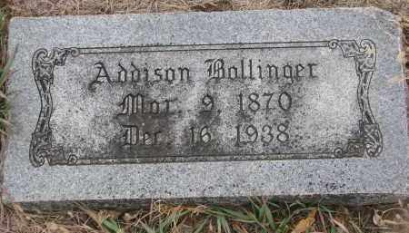 BOLLINGER, ADDISON - Stanton County, Nebraska | ADDISON BOLLINGER - Nebraska Gravestone Photos