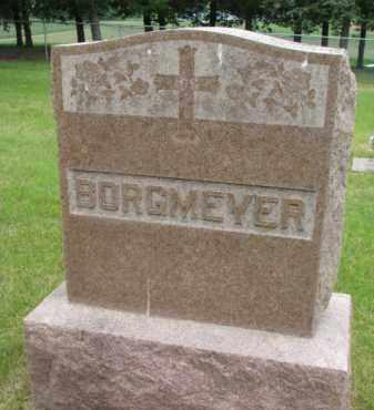 BORGMEYER, FAMILY STONE - Stanton County, Nebraska | FAMILY STONE BORGMEYER - Nebraska Gravestone Photos