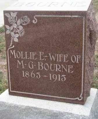 BOURNE, MOLLIE L. - Stanton County, Nebraska | MOLLIE L. BOURNE - Nebraska Gravestone Photos