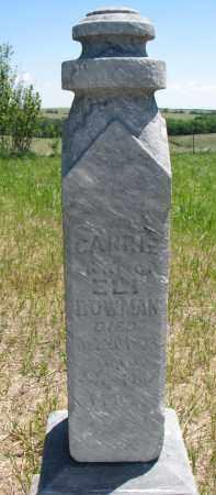 BOWMAN, CARRIE - Stanton County, Nebraska   CARRIE BOWMAN - Nebraska Gravestone Photos