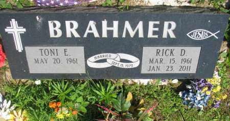 BRAHMER, TONI E. - Stanton County, Nebraska   TONI E. BRAHMER - Nebraska Gravestone Photos