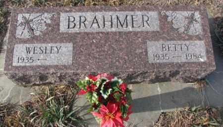 BRAHMER, BETTY - Stanton County, Nebraska | BETTY BRAHMER - Nebraska Gravestone Photos