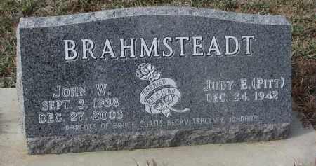 BRAHMSTEADT, JOHN W. - Stanton County, Nebraska | JOHN W. BRAHMSTEADT - Nebraska Gravestone Photos
