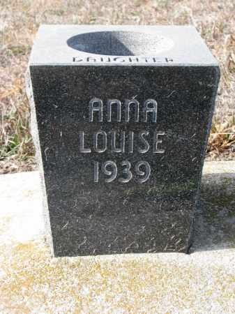 BROCKMAN, ANNA LOUISE (CLOSEUP) - Stanton County, Nebraska | ANNA LOUISE (CLOSEUP) BROCKMAN - Nebraska Gravestone Photos