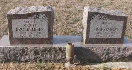BROEKEMEIER, FRIEDERIKE - Stanton County, Nebraska | FRIEDERIKE BROEKEMEIER - Nebraska Gravestone Photos