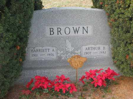 BROWN, ARTHUR B. - Stanton County, Nebraska   ARTHUR B. BROWN - Nebraska Gravestone Photos