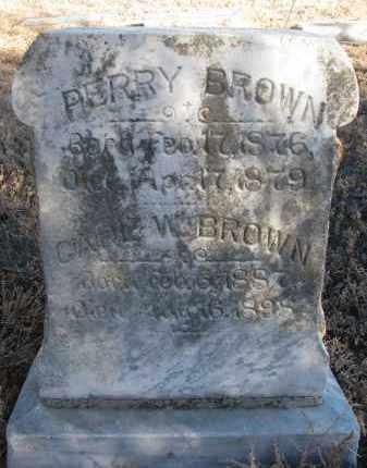 BROWN, PERRY - Stanton County, Nebraska | PERRY BROWN - Nebraska Gravestone Photos