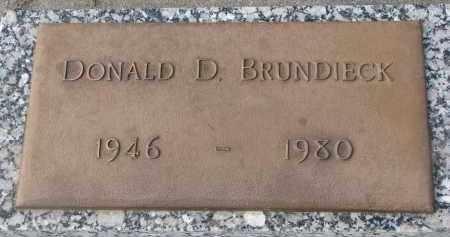BRUNDIECK, DONALD D. - Stanton County, Nebraska   DONALD D. BRUNDIECK - Nebraska Gravestone Photos