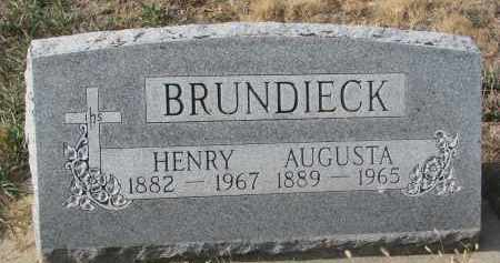 BRUNDIECK, HENRY - Stanton County, Nebraska | HENRY BRUNDIECK - Nebraska Gravestone Photos
