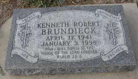 BRUNDIECK, KENNETH ROBERT - Stanton County, Nebraska | KENNETH ROBERT BRUNDIECK - Nebraska Gravestone Photos