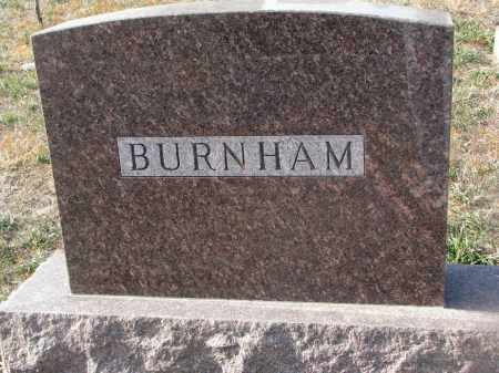 BUNHAM, PLOT STONE - Stanton County, Nebraska | PLOT STONE BUNHAM - Nebraska Gravestone Photos