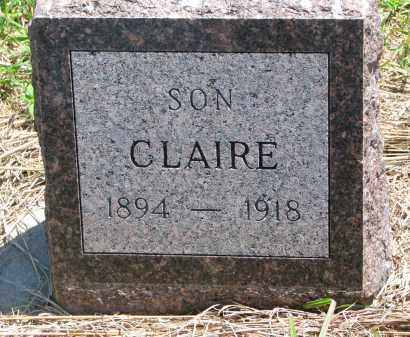 BURNHAM, CLAIRE - Stanton County, Nebraska | CLAIRE BURNHAM - Nebraska Gravestone Photos