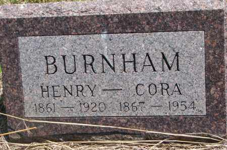 BURNHAM, HENRY - Stanton County, Nebraska | HENRY BURNHAM - Nebraska Gravestone Photos