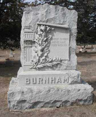 BURNHAM, PLOT STONE - Stanton County, Nebraska | PLOT STONE BURNHAM - Nebraska Gravestone Photos