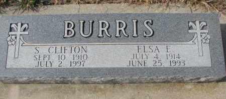 BURRIS, ELSA E. - Stanton County, Nebraska | ELSA E. BURRIS - Nebraska Gravestone Photos
