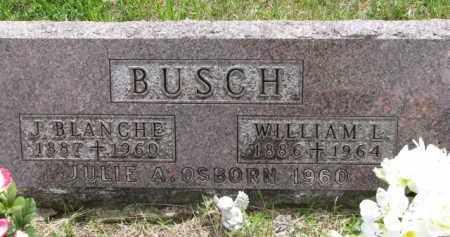BUSCH, J. BLANCHE - Stanton County, Nebraska   J. BLANCHE BUSCH - Nebraska Gravestone Photos