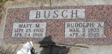 BUSCH, MARY M. - Stanton County, Nebraska | MARY M. BUSCH - Nebraska Gravestone Photos