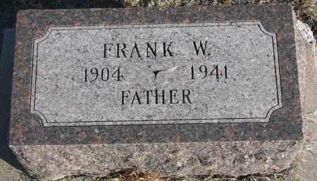 BUSS, FRANK W. - Stanton County, Nebraska | FRANK W. BUSS - Nebraska Gravestone Photos