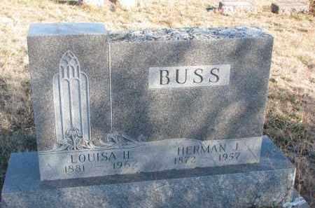 BUSS, LOUISA H. - Stanton County, Nebraska | LOUISA H. BUSS - Nebraska Gravestone Photos