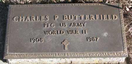 BUTTERFIELD, CHARLES P. (WW II) - Stanton County, Nebraska | CHARLES P. (WW II) BUTTERFIELD - Nebraska Gravestone Photos