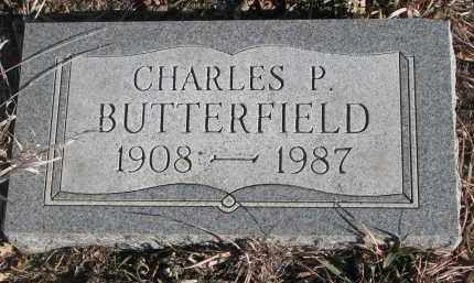 BUTTERFIELD, CHARLES P. - Stanton County, Nebraska | CHARLES P. BUTTERFIELD - Nebraska Gravestone Photos