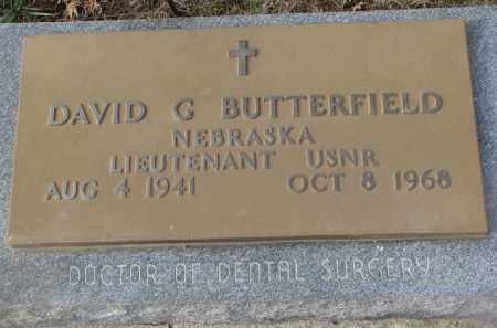 BUTTERFIELD, DAVID G. - Stanton County, Nebraska | DAVID G. BUTTERFIELD - Nebraska Gravestone Photos