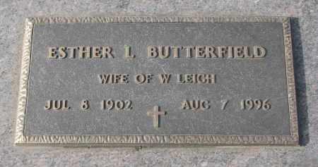 BUTTERFIELD, ESTHER L. - Stanton County, Nebraska | ESTHER L. BUTTERFIELD - Nebraska Gravestone Photos