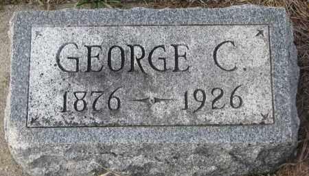 BUTTERFIELD, GEORGE C. - Stanton County, Nebraska   GEORGE C. BUTTERFIELD - Nebraska Gravestone Photos