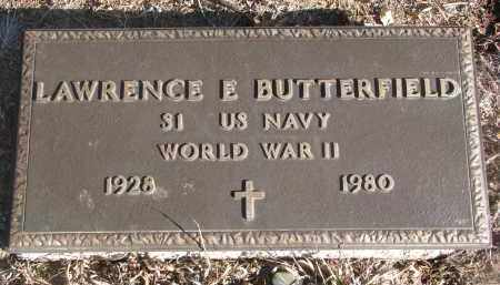 BUTTERFIELD, LAWRENCE E. (WW II) - Stanton County, Nebraska | LAWRENCE E. (WW II) BUTTERFIELD - Nebraska Gravestone Photos