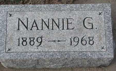 BUTTERFIELD, NANNIE G. - Stanton County, Nebraska | NANNIE G. BUTTERFIELD - Nebraska Gravestone Photos