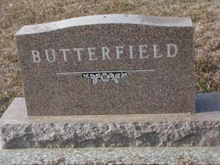 BUTTERFIELD, PLOT STONE - Stanton County, Nebraska | PLOT STONE BUTTERFIELD - Nebraska Gravestone Photos