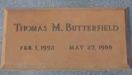BUTTERFIELD, THOMAS M. - Stanton County, Nebraska | THOMAS M. BUTTERFIELD - Nebraska Gravestone Photos
