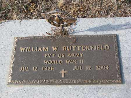 BUTTERFIELD, WILLIAM W. - Stanton County, Nebraska | WILLIAM W. BUTTERFIELD - Nebraska Gravestone Photos