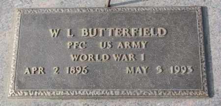 BUTTERFIELD, W.L. - Stanton County, Nebraska   W.L. BUTTERFIELD - Nebraska Gravestone Photos