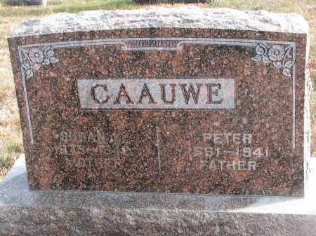 CAAUWE, PETER - Stanton County, Nebraska | PETER CAAUWE - Nebraska Gravestone Photos