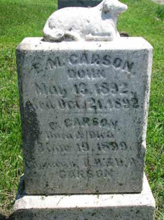 CARSON, C. - Stanton County, Nebraska | C. CARSON - Nebraska Gravestone Photos