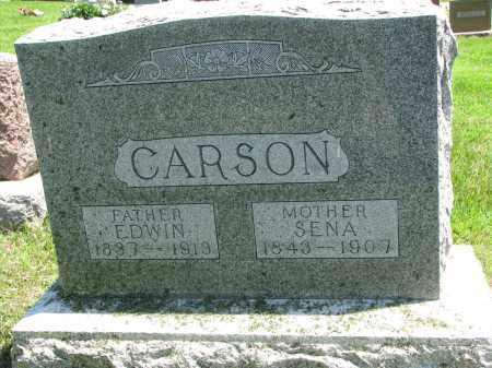 CARSON, SENA - Stanton County, Nebraska | SENA CARSON - Nebraska Gravestone Photos
