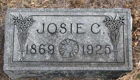 CARSON, JOSIE C. - Stanton County, Nebraska   JOSIE C. CARSON - Nebraska Gravestone Photos