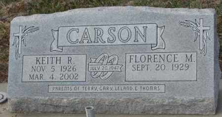CARSON, FLORENCE M. - Stanton County, Nebraska | FLORENCE M. CARSON - Nebraska Gravestone Photos