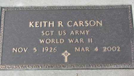 CARSON, KEITH R. (WW II) - Stanton County, Nebraska | KEITH R. (WW II) CARSON - Nebraska Gravestone Photos