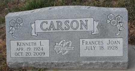 CARSON, KENNETH L. - Stanton County, Nebraska | KENNETH L. CARSON - Nebraska Gravestone Photos