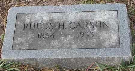 CARSON, RUFUS H. - Stanton County, Nebraska | RUFUS H. CARSON - Nebraska Gravestone Photos